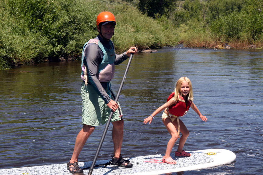 Surf's up, Daddy-o!